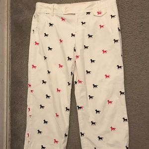 Lilly Pulitzer Corduroy Horse Pants